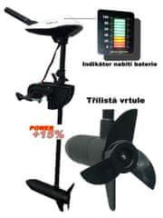Zico Elektromotor TURBO ,výtl.1650 kg ET50 voltmeter