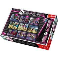 Trefl 3 Histoires, 3 tailles : Monster High