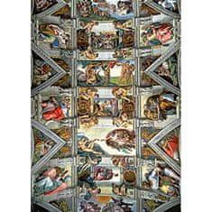 Trefl Michelangelo: Sixtínska kaplnka 3 6000 dielikov