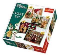 Trefl 4 Puzzles - Treflikow