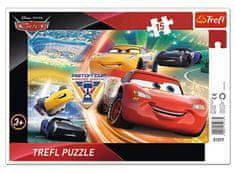 Trefl Frame Puzzle - Cars 15 dielikov