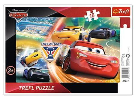 Trefl Frame Puzzle - Cars