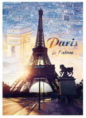 Trefl Puzzle 1000 dílků Paris, I love you