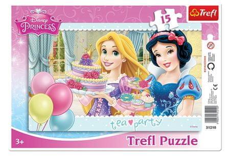 Trefl Puzzle Cadre - Disney Princesses