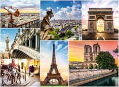 Trefl Puzzle 3000 dielikov Collage - Paris