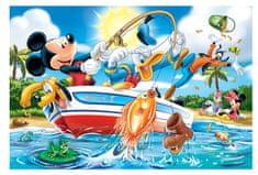 Trefl Pièces XXL - Mickey à la Pêche
