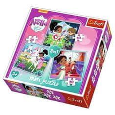 Trefl 3 Puzzles - Nella