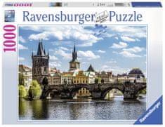 Ravensburger Pohľad na Karlov most, Praha 1000 dielikov