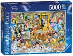 Ravensburger Puzzle 5000 dílků Mickey the Artist