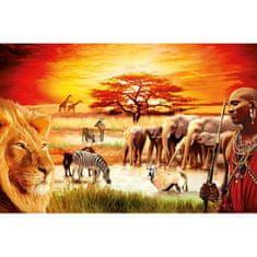 Ravensburger Puzzle 3000 db Jigsaw Puzzle - 3000 db : Maasai's Proud