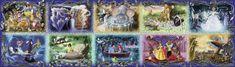 Ravensburger Puzzle 40320 dílků Unforgettable Moments Disney