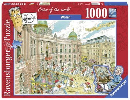 Ravensburger Puzzle 1000 db Fleroux - Wenen