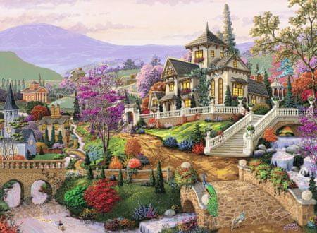 Ravensburger Puzzle 500 db Hillside Retreat