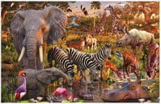 Ravensburger Puzzle 3000 db Jigsaw Puzzle - 3000 db - African Animals