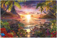 Ravensburger Puzzle 18000 dílků Jigsaw Puzzle - 18000 Pieces : Celestial Sunset