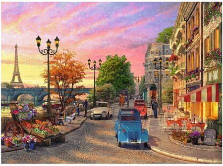 Ravensburger Puzzle 500 db Dominic Davison: Evening in Paris