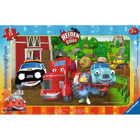 Ravensburger Frame Puzzle - Helden der Stadt