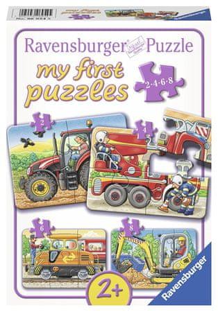 Ravensburger 4 Jigsaw Puzzles - At Work