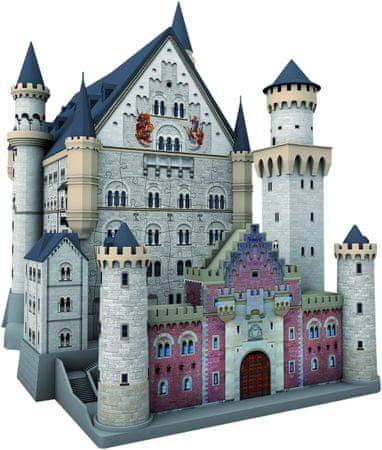 Ravensburger Puzzle 216 dílků 3D Jigsaw Puzzle - Neuschwanstein Castle
