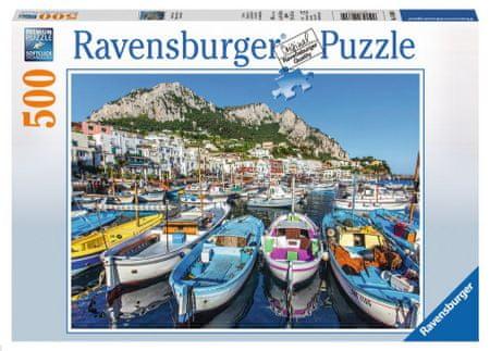Ravensburger Puzzle 500 db Colorful Marina