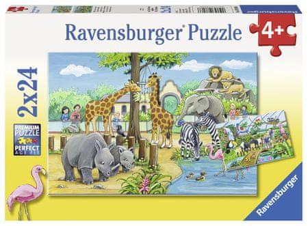 Ravensburger 2 Jigsaw Puzzles - Zoo