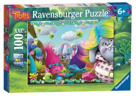 Ravensburger Puzzle 100 dílků XXL Pieces - Trolls
