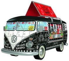 Ravensburger Puzzle 162 dílků 3D Jigsaw Puzzle - Volkswagen T1 - Food Truck