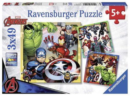 Ravensburger 3 Puzzles - Marvel Avengers