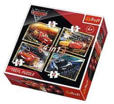 Trefl 4 Jigsaw Puzzles - Cars 3