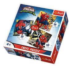 Trefl 3 Jigsaw Puzzles - Spider-Man