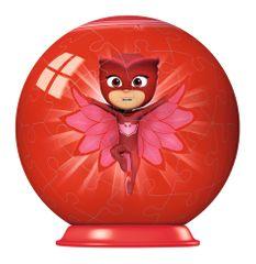 Ravensburger Puzzle 150 dílků 3D Puzzle-Ball - PJ Masks