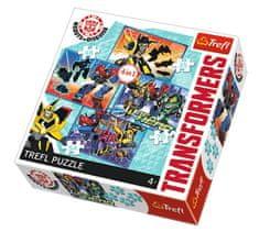Trefl 4 Puzzles - Transformers