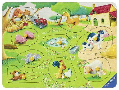 Ravensburger Wooden Jigsaw Puzzle - Farm Animals