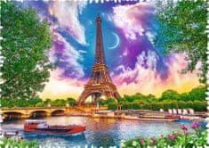 Trefl Puzzle 600 dílků Crazy Shapes - Sky over Paris