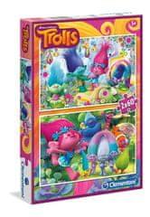 Clementoni 2 Puzzles - Trolls