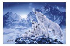 Clementoni Puzzle 1000 db Famille de Loups