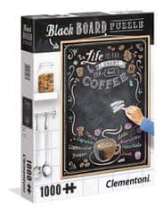 Clementoni Puzzle 1000 dílků Black Board Puzzle - Life is too short