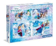 Clementoni 4 Jigsaw Puzzles - Frozen