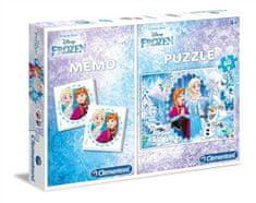 Clementoni Puzzle Frozen + Memo