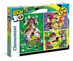 Clementoni 3 Puzzles - Ben 10
