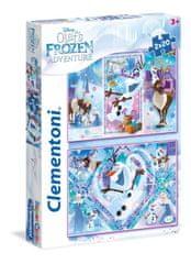 Clementoni 2 Jigsaw Puzzles - Frozen