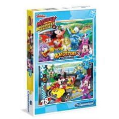 Clementoni 2 Puzzles - Mickey