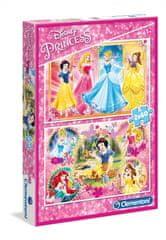 Clementoni 2 Puzzles - Disney Princess