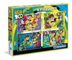 Clementoni 4 Puzzles - Ben 10