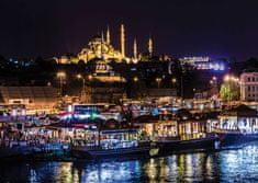 Art puzzle Puzzle 1000 dílků Neon Jigsaw Puzzle - Eminönü, Istanbul