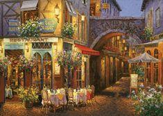 Art puzzle Puzzle 1000 dílků Neon Jigsaw Puzzle - Au Comte Roger