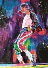 Art puzzle Michael's Jackson Moonwalker 1000 dielikov