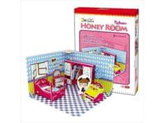 CubicFun Honey Room - Bedroom 3D 63 dielikov