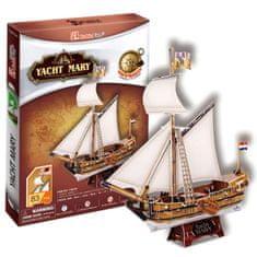 CubicFun Jachta Mary 3D 83 dielikov