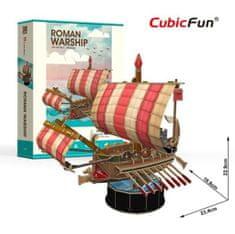 CubicFun 3D Puzzle - Roman Warship - Difficulty: 4/6